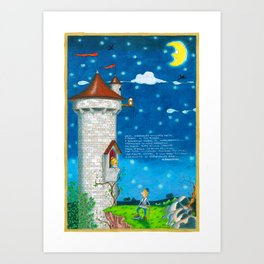 REG -  Romeo and juliet Art Print