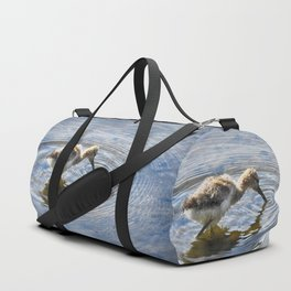 American Avocet Chick Duffle Bag