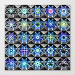 Composite Girih Canvas Print