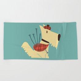 Scottish  Terrier - My Pet Beach Towel