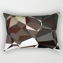 Geometic Greys Rectangular Pillow