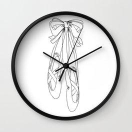 Dance Shoes Wall Clock