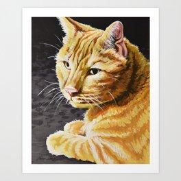 Rigby Art Print
