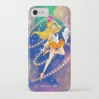 sailor venus iPhone & iPod Cases featuring Sailor Venus  by Moonsia