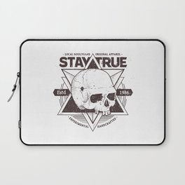Stay True Skull #2 Laptop Sleeve