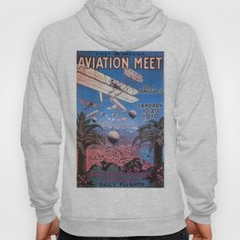 Vintage poster - Aviation Meet Hoody