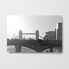 London Bridges Metal Print