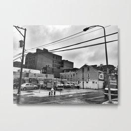David Lynch's 13th & Wood Metal Print