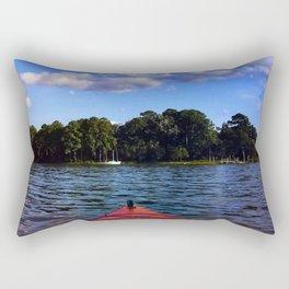 Weekend on the water Rectangular Pillow