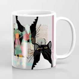 Kats Visit Museum Coffee Mug
