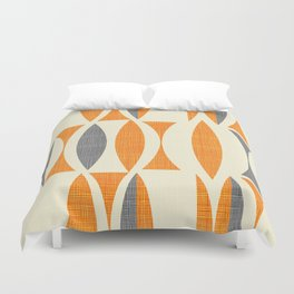 Seventies  orange Duvet Cover