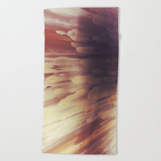 Glowing Copper IV Beach Towel