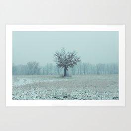 Union Winter 1 Art Print