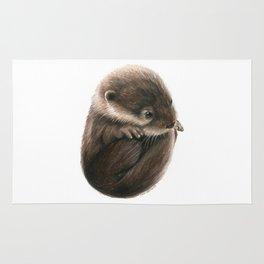 Shy Otter Rug