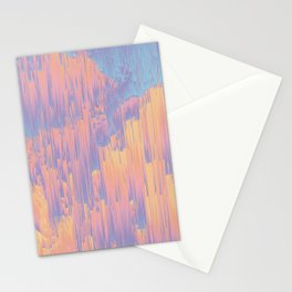 Chillhop Beats - Abstract Pixel Art Stationery Cards