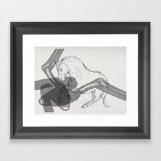 Temper Framed Art Print