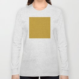 Yellow Gold Très Petit Geometric Pattern Long Sleeve T-shirt
