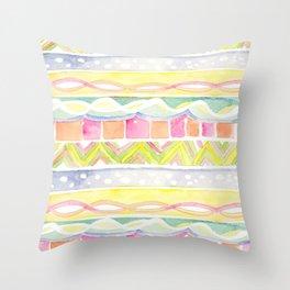 Beach Bracelets Throw Pillow