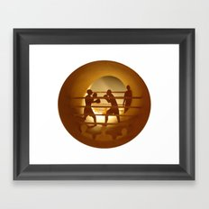 Boxing (Boxe) Framed Art Print