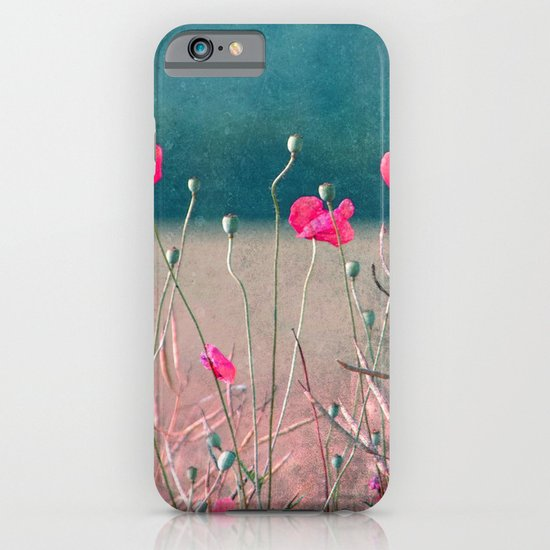 pink poppy iPhone & iPod Case