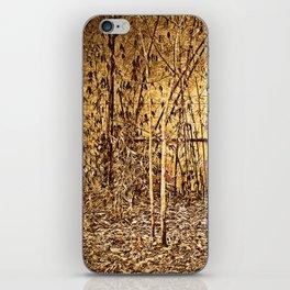 Bamboo Autumn iPhone Skin