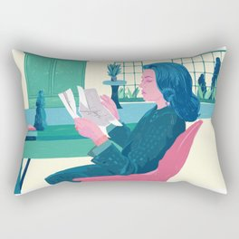 Elevator to the Gallows - Jeanne Moreau - illustration tribute Rectangular Pillow