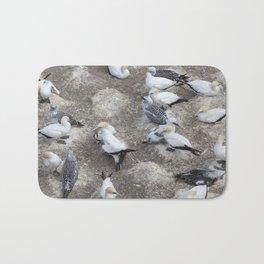 Gannet Colony Bath Mat