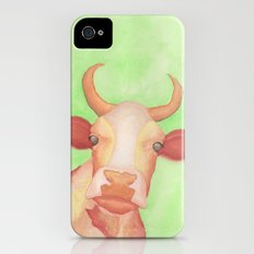 Curious Cow iPhone (4, 4s) Slim Case