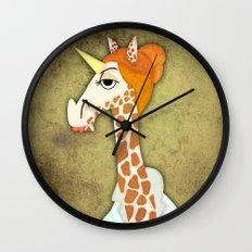 Girafficorn Wall Clock