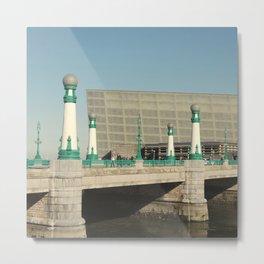 Kursaal Bridge Metal Print