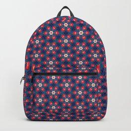 Vintage Flower Pattern Backpack