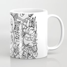 Newborn astronaut Coffee Mug