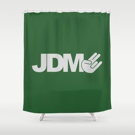 JDM shocker v7 HQvector Shower Curtain