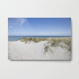 Baltic Sea Relaxing Landscape View Metal Print