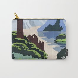 Land of Legend Vintage Travel Poster Carry-All Pouch
