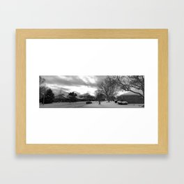 The Land of Ice and Snow Framed Art Print