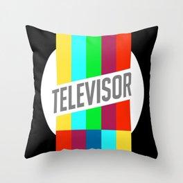 Televisor  Throw Pillow