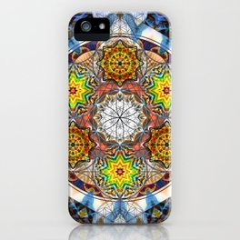 Upwards - The Mandala Collection iPhone Case