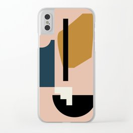 Shape study #2 - Lola Collection Clear iPhone Case