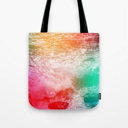 Waves of Color Tote Bag