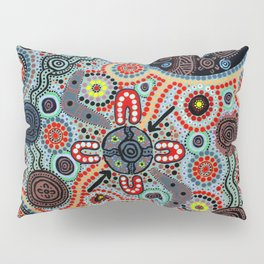 Yindyamarra - Respect the Process Pillow Sham