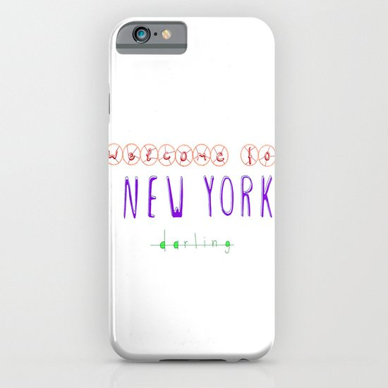 Welcome to New York iPhone & iPod Case