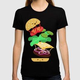 Extreme Burger Making T-shirt