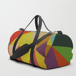 Geometric Abstract Art Pattern Ten Duffle Bag