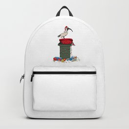 Xmas Bin Chicken Backpack