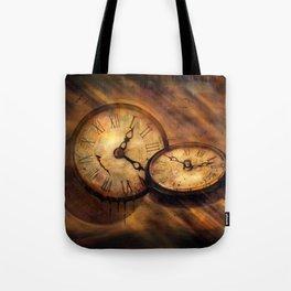 Die Zeit vergeht im Flug Tote Bag