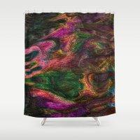 spirit Shower Curtains featuring SPIRIT by MehrFarbeimLeben
