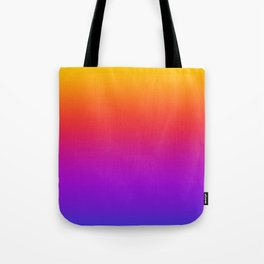 Colorful Gradient Pattern Neon Abstract Rainbow Tote Bag