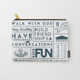 GRACE CHURCH VALUES Carry-All Pouch
