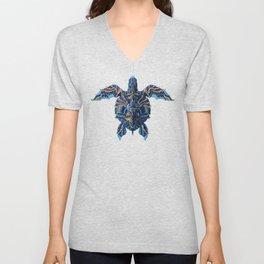 Sea Turtle (Color Version) Unisex V-Neck